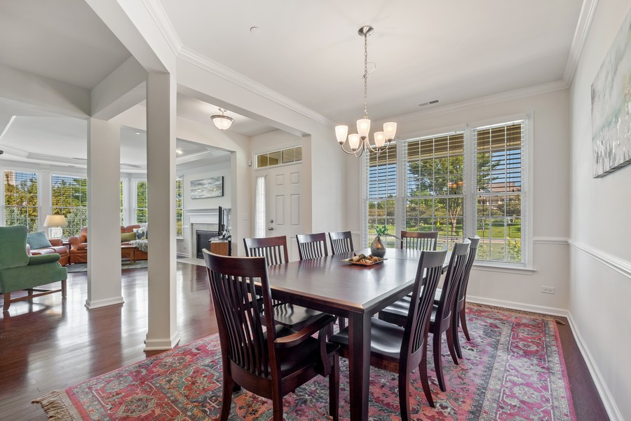 Real Estate Photography - 1698 Patriot Blvd, Glenview, IL, 60026 - Dining Room