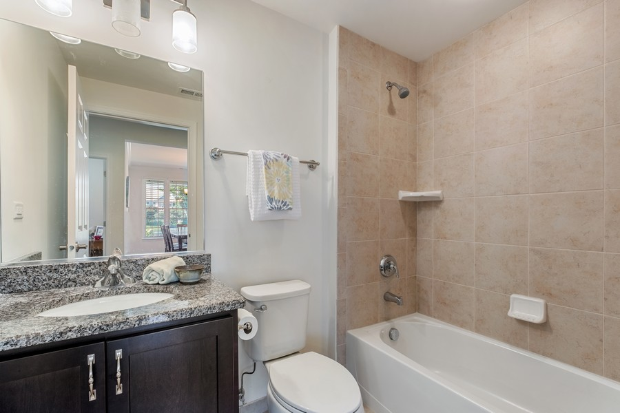 Real Estate Photography - 1698 Patriot Blvd, Glenview, IL, 60026 - 2nd Bathroom