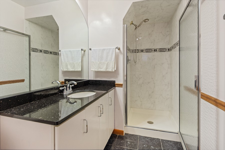 Real Estate Photography - 1912 N Spruce Terrace, Arlington Heights, IL, 60004 - 2nd Bathroom