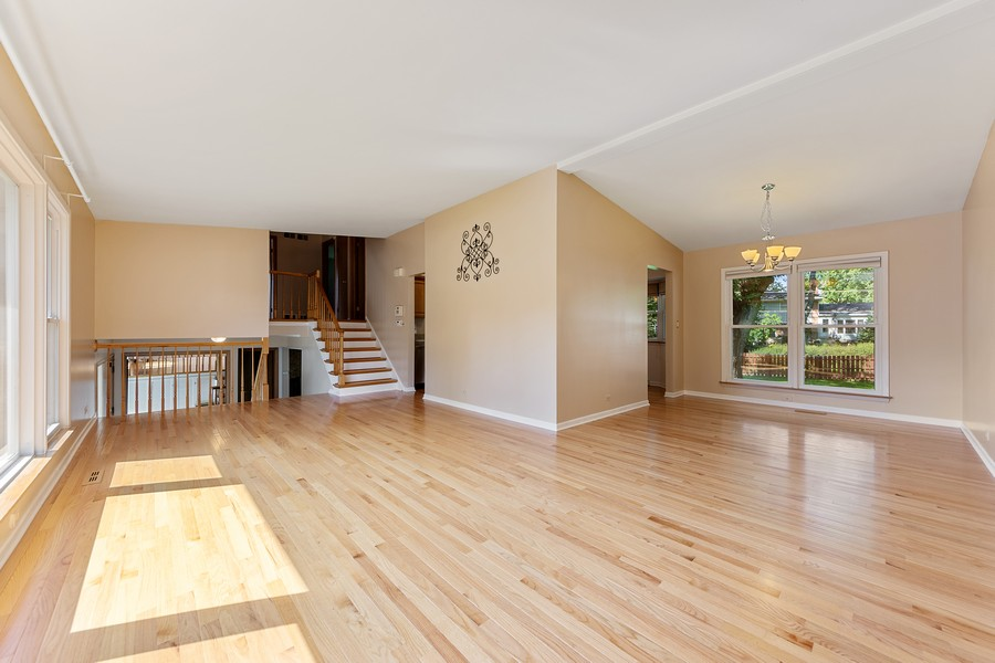 Real Estate Photography - 1912 N Spruce Terrace, Arlington Heights, IL, 60004 - Living Room / Dining Room