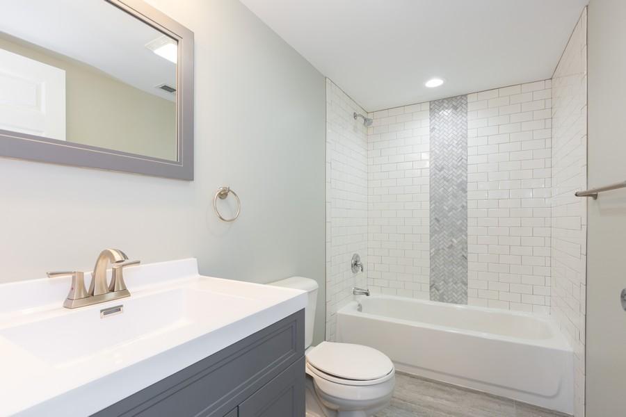 Real Estate Photography - 405 Bass Street, Wilmington, IL, 60481 - Bathroom