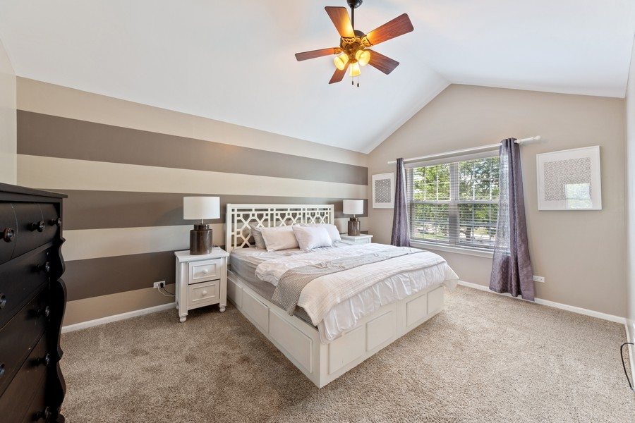 Real Estate Photography - 211 Buckingham Ct, Grayslake, IL, 60048 - Master Bedroom