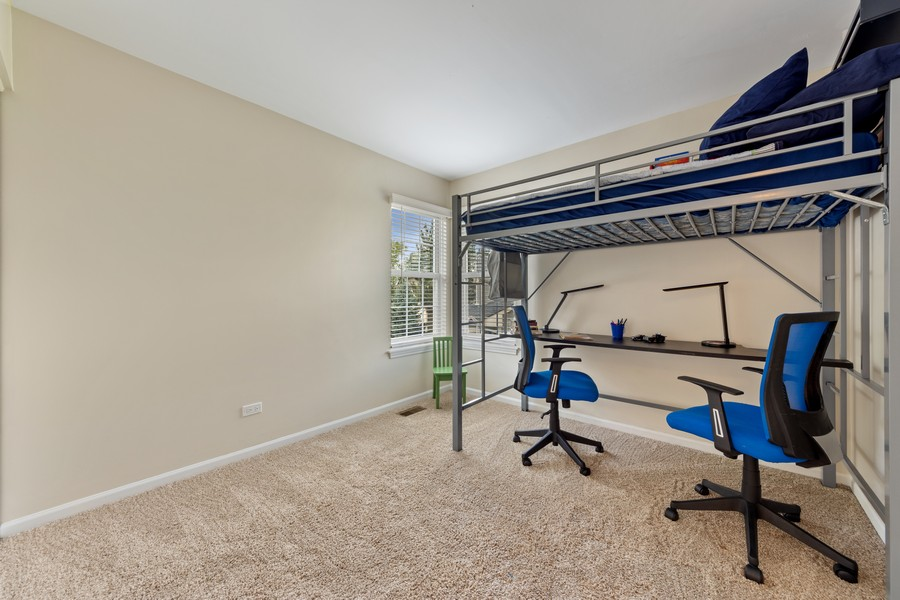 Real Estate Photography - 211 Buckingham Ct, Grayslake, IL, 60048 - 4th Bedroom