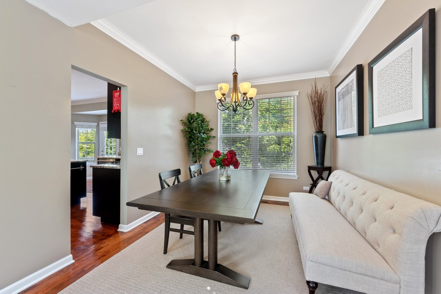 Real Estate Photography - 211 Buckingham Ct, Grayslake, IL, 60048 - Dining Room
