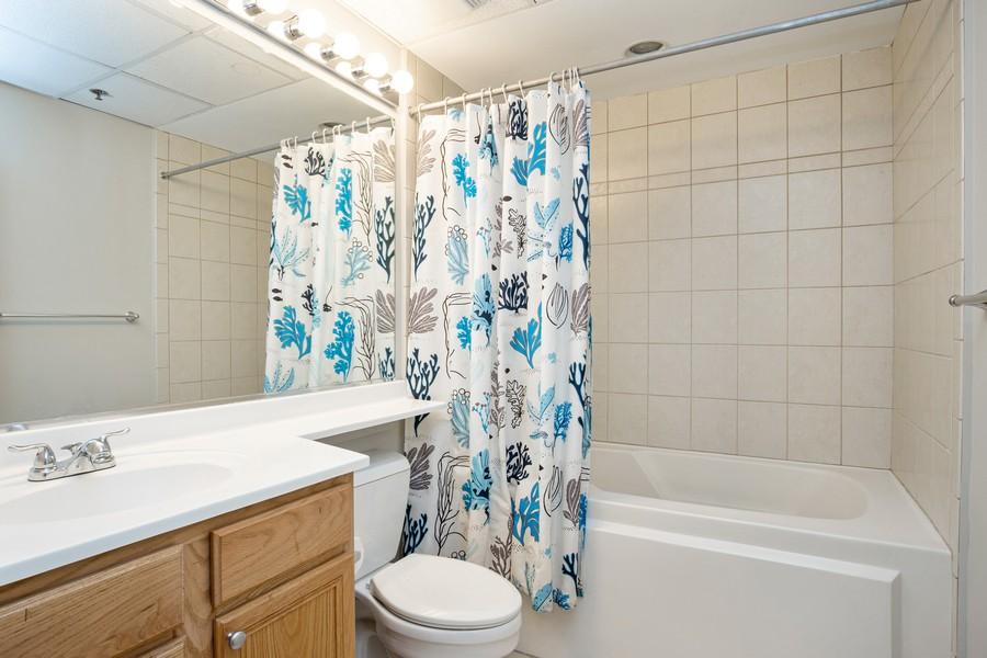 Real Estate Photography - 6 E Monroe, 602, Chicago, IL, 60603 - Bathroom