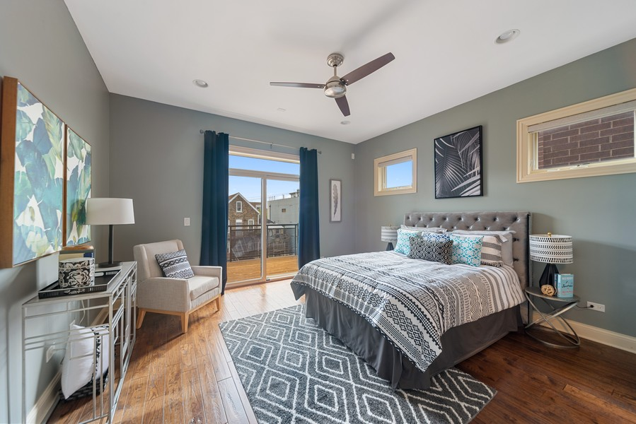 Real Estate Photography - 1505 W. Walton, #3, Chicago, IL, 60622 - Master Bedroom