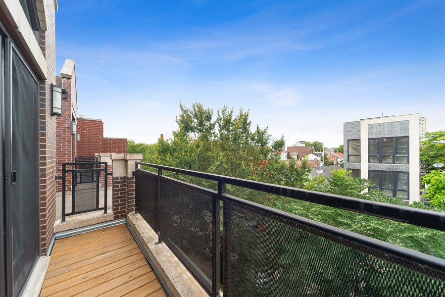 Real Estate Photography - 1505 W. Walton, #3, Chicago, IL, 60622 - Front Terrace