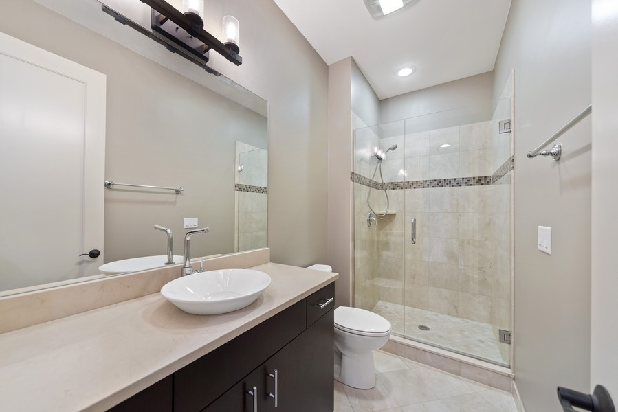 Real Estate Photography - 1505 W. Walton, #3, Chicago, IL, 60622 - Second Bathroom