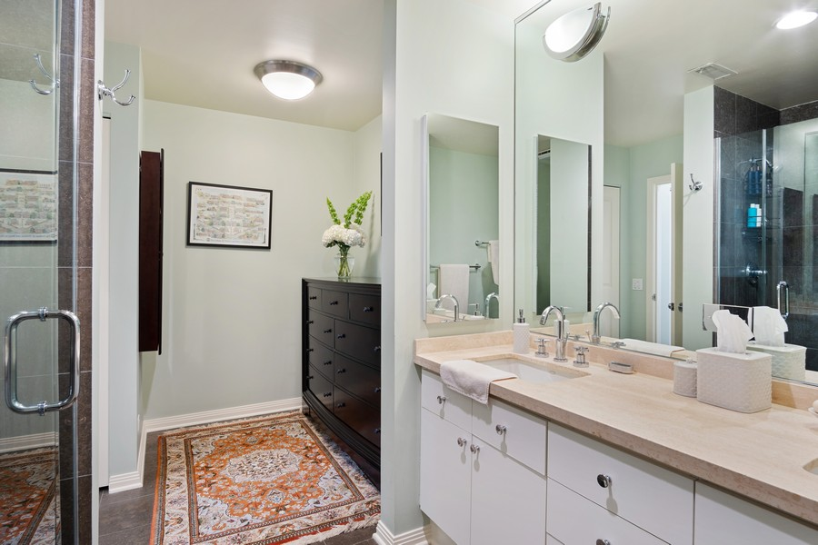 Real Estate Photography - 1414 N Wells St, Apt 311, Chicago, IL, 60610 - Master Bathroom
