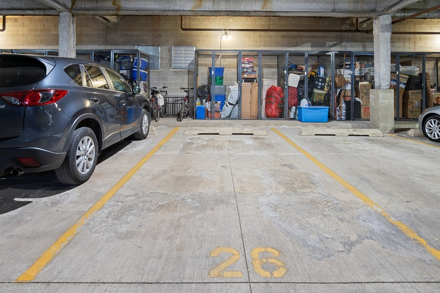 Real Estate Photography - 1414 N Wells St, Apt 311, Chicago, IL, 60610 - Garage