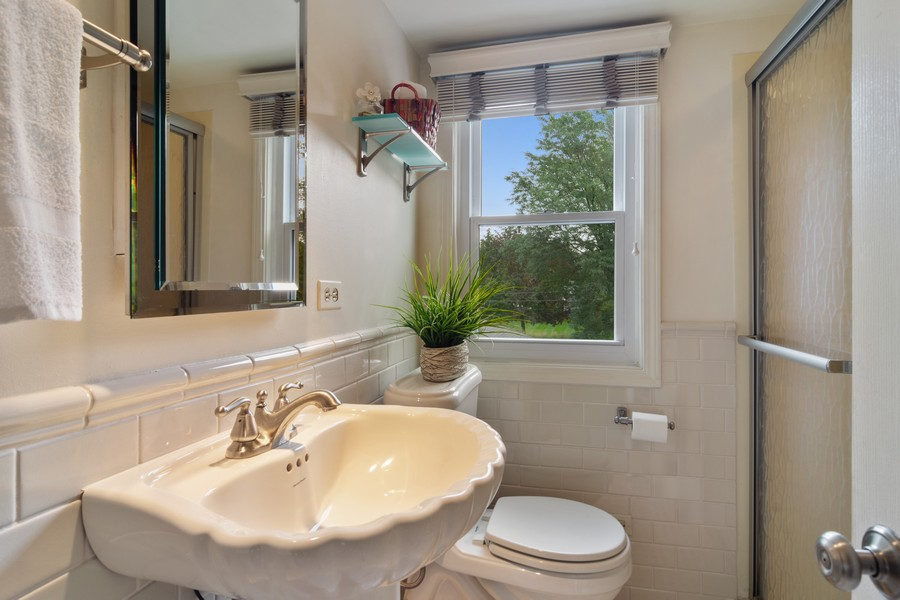 Real Estate Photography - 713 N Hickory, Arlington Heights, IL, 60004 - 2nd Bathroom