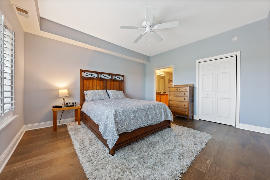 Real Estate Photography - 0S099 Lee Court, unit 409, Winfield, IL, 60190 - Master Bedroom