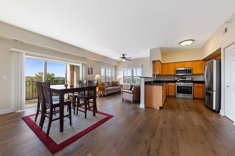 Real Estate Photography - 0S099 Lee Court, unit 409, Winfield, IL, 60190 - Dining Room