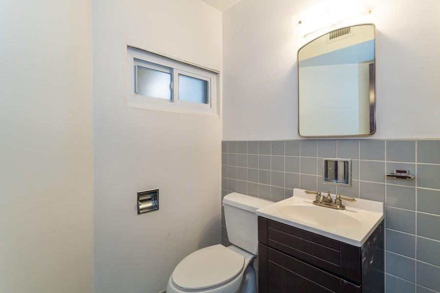 Real Estate Photography - 2435 W. Lunt, #2A, Chicago, IL, 60645 - Half Bath