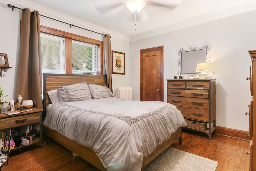 Real Estate Photography - 7515 N Claremont Ave, Chicago, IL, 60645 - Master Bedroom