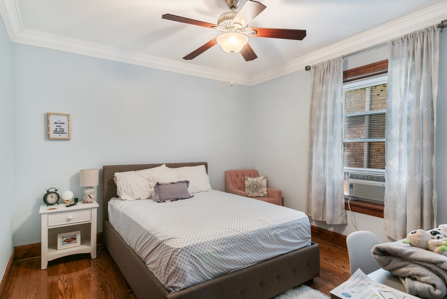 Real Estate Photography - 7515 N Claremont Ave, Chicago, IL, 60645 - 2nd Bedroom