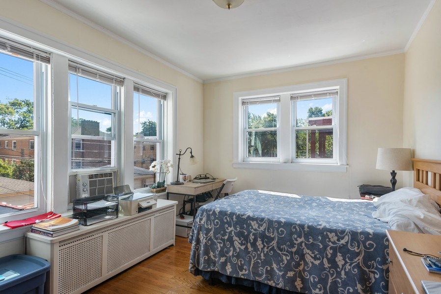 Real Estate Photography - 7515 N Claremont Ave, Chicago, IL, 60645 - 3rd Bedroom