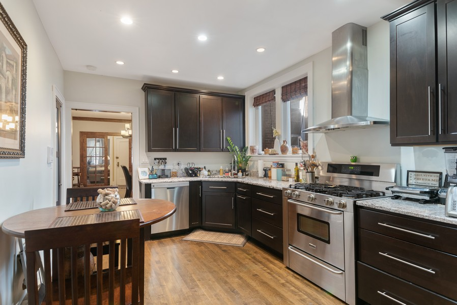 Real Estate Photography - 7515 N Claremont Ave, Chicago, IL, 60645 - Unit 1 Kitchen