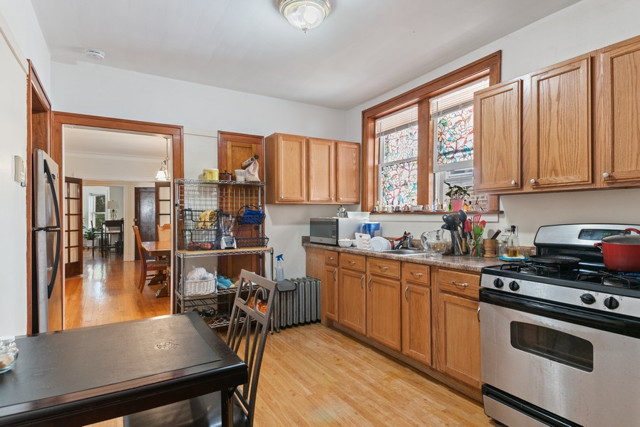 Real Estate Photography - 7515 N Claremont Ave, Chicago, IL, 60645 - Unit 2 Kitchen