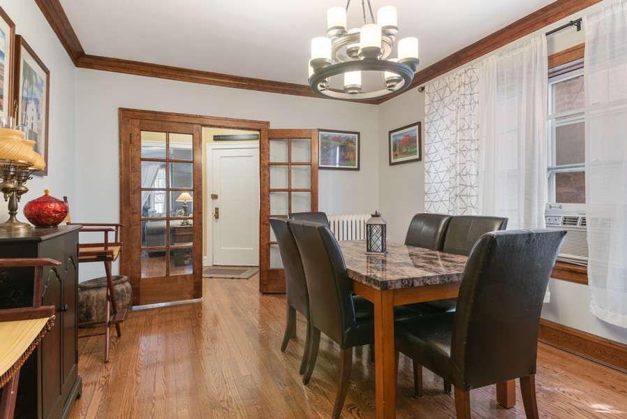 Real Estate Photography - 7515 N Claremont Ave, Chicago, IL, 60645 - Unit 1 Dining Room