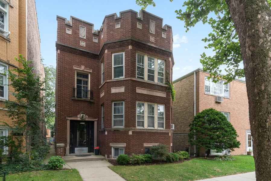 Real Estate Photography - 7515 N Claremont Ave, Chicago, IL, 60645 - Front View