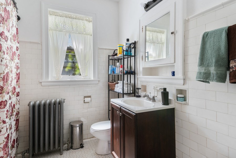 Real Estate Photography - 7515 N Claremont Ave, Chicago, IL, 60645 - Unit 2 Bathroom