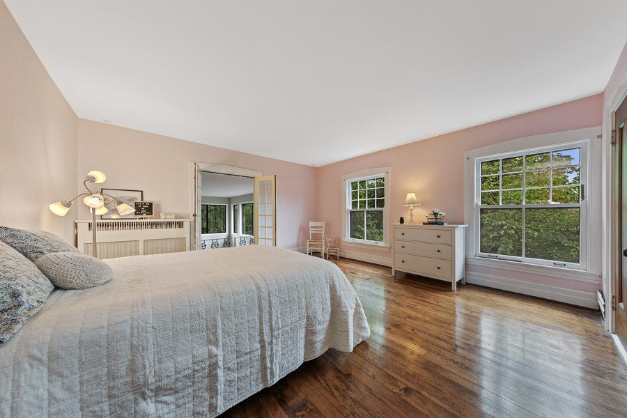Real Estate Photography - 321 North Delaplaine Road, Riverside, IL, 60546 - 3rd Bedroom