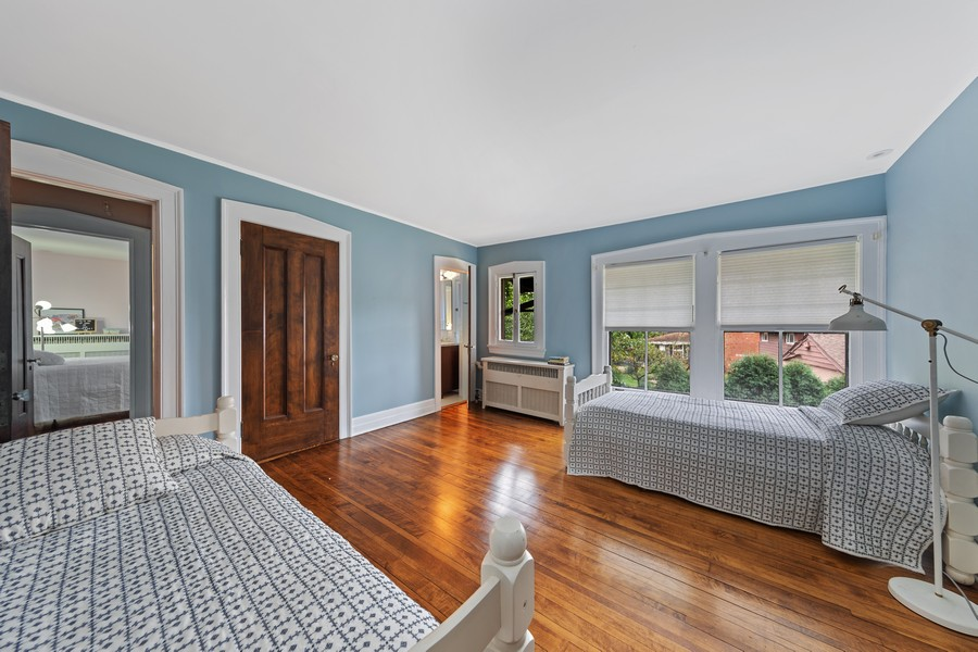 Real Estate Photography - 321 North Delaplaine Road, Riverside, IL, 60546 - 4th Bedroom