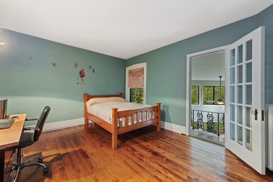 Real Estate Photography - 321 North Delaplaine Road, Riverside, IL, 60546 - Bedroom