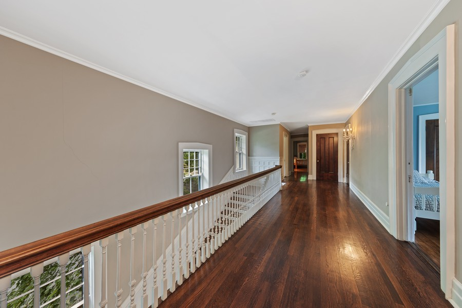 Real Estate Photography - 321 North Delaplaine Road, Riverside, IL, 60546 - Hallway