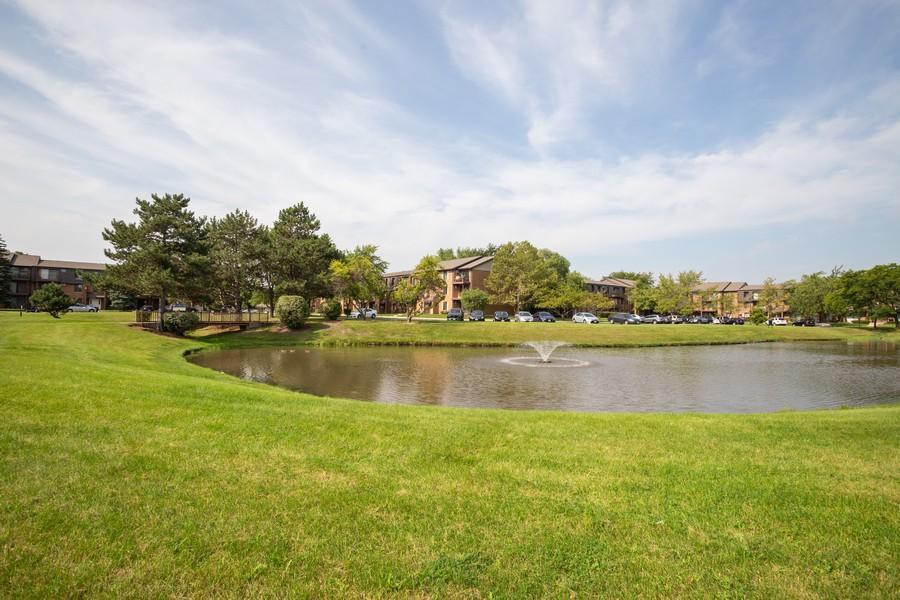 Real Estate Photography - 639 Briar Hill, Unit 1, Addison, IL, 60101 - Lake