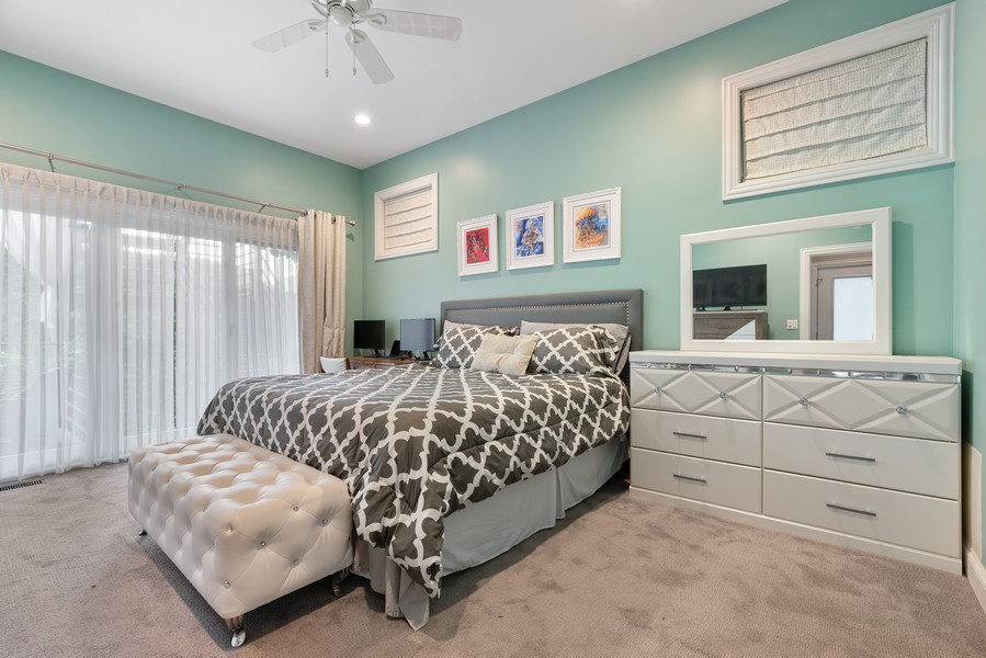 Real Estate Photography - 906 N Hermitage, Unit 1, Chicago, IL, 60642 - Master Bedroom
