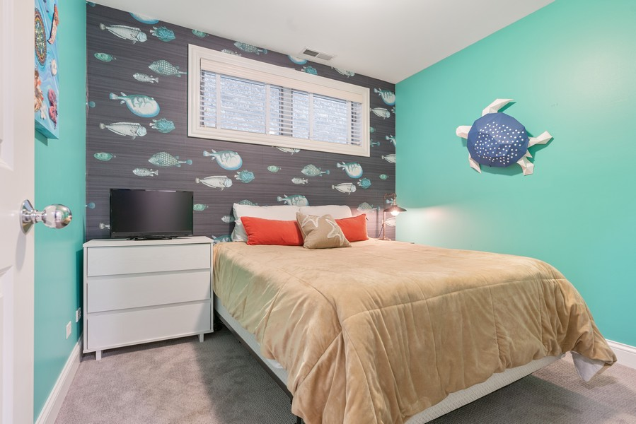 Real Estate Photography - 906 N Hermitage, Unit 1, Chicago, IL, 60642 - 2nd Bedroom