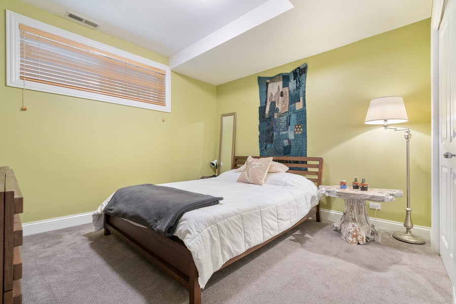 Real Estate Photography - 906 N Hermitage, Unit 1, Chicago, IL, 60642 - 3rd Bedroom
