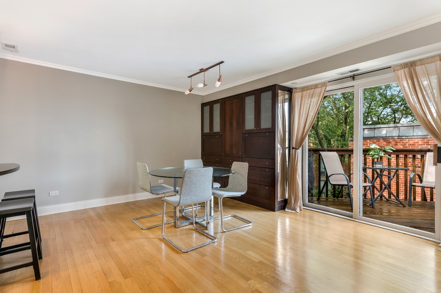 Real Estate Photography - 2140 N Lincoln Ave, 5305, Chicago, IL, 60614 - Dining Room