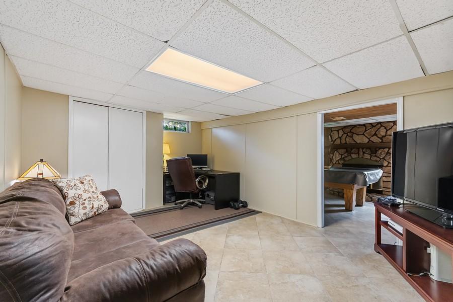 Real Estate Photography - 23W528 Burdette Avenue, Carol Stream, IL, 60188 - Basement