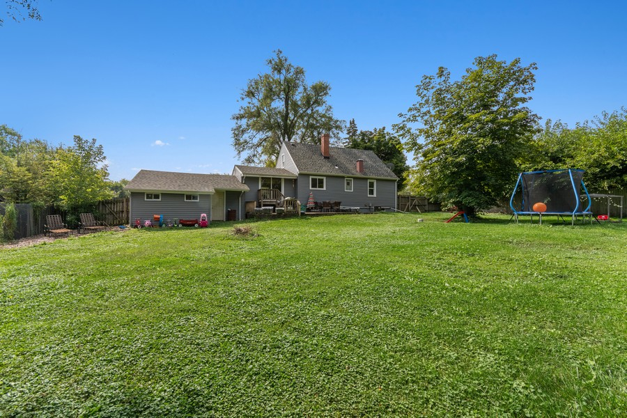 Real Estate Photography - 23W528 Burdette Avenue, Carol Stream, IL, 60188 - Back Yard