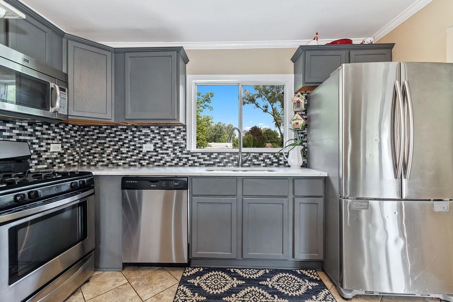 Real Estate Photography - 23W528 Burdette Avenue, Carol Stream, IL, 60188 - Kitchen