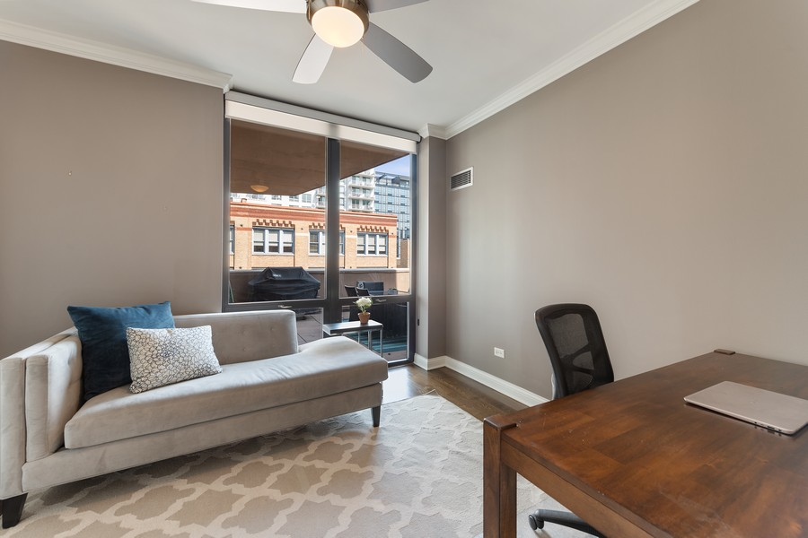 Real Estate Photography - 435 W. Erie St., 702, Chicago, IL, 60654 - 3rd Bedroom