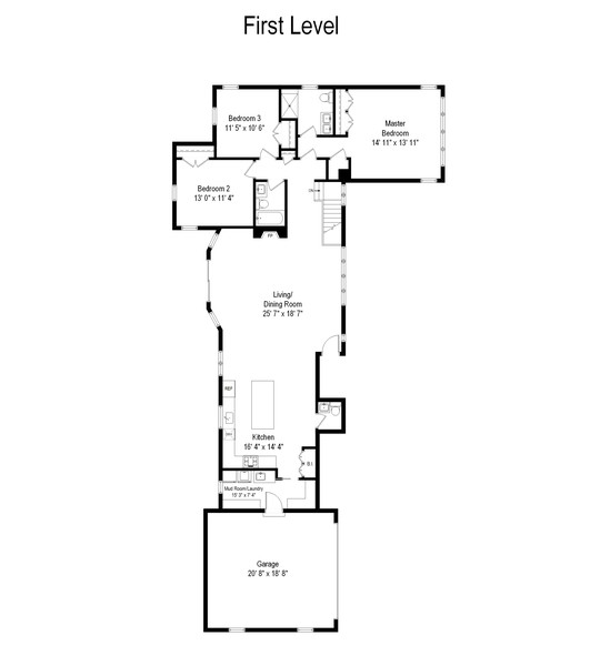 Real Estate Photography - 474 Uvedale Court, Riverside, IL, 60546 - Floor Plan