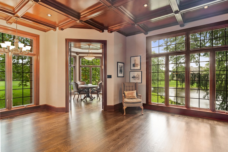 Real Estate Photography - 4 Kensington Drive, North Barrington, IL, 60010 - Game Room Foyer