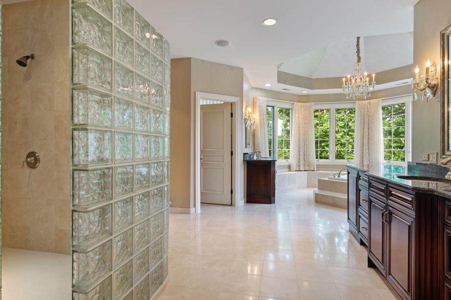 Real Estate Photography - 4 Kensington Drive, North Barrington, IL, 60010 - Master Bathroom