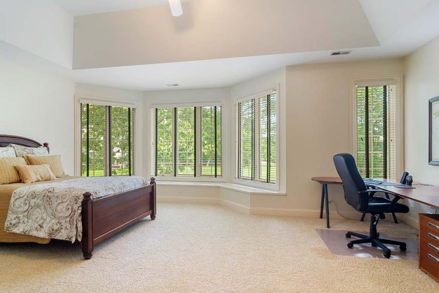 Real Estate Photography - 4 Kensington Drive, North Barrington, IL, 60010 - Bedroom #5 with Ensuite