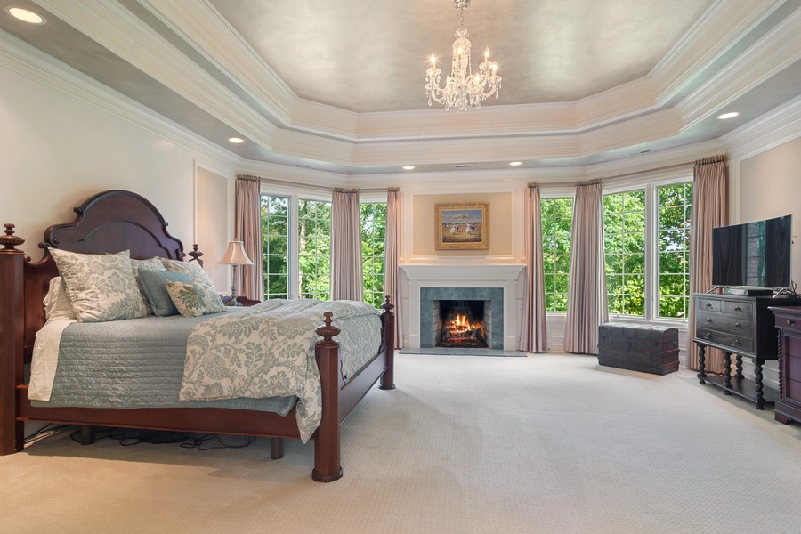 Real Estate Photography - 4 Kensington Drive, North Barrington, IL, 60010 - Master Bedroom