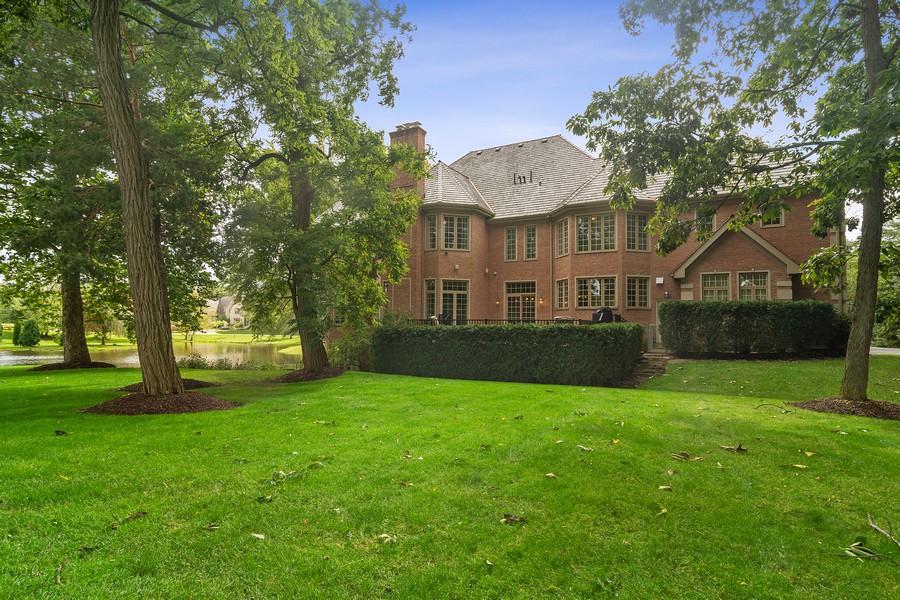 Real Estate Photography - 4 Kensington Drive, North Barrington, IL, 60010 - Rear View