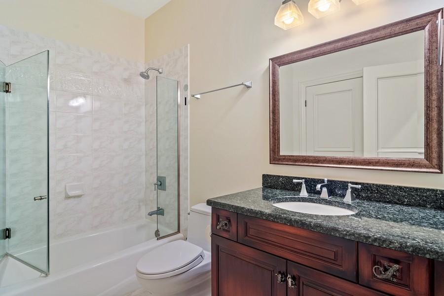 Real Estate Photography - 4 Kensington Drive, North Barrington, IL, 60010 - Bedroom #5 Ensuite Full Bath