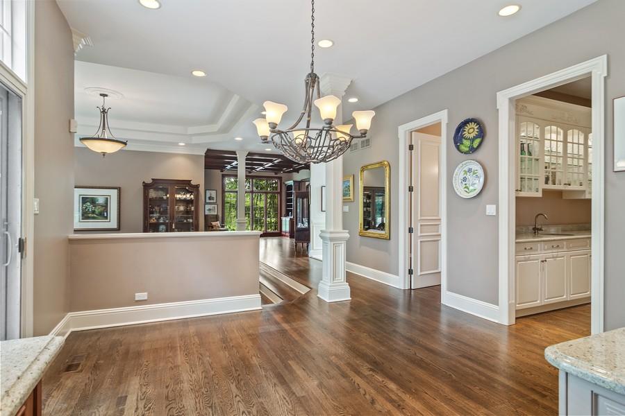 Real Estate Photography - 4 Kensington Drive, North Barrington, IL, 60010 - Breakfast Area Open Floor Plan