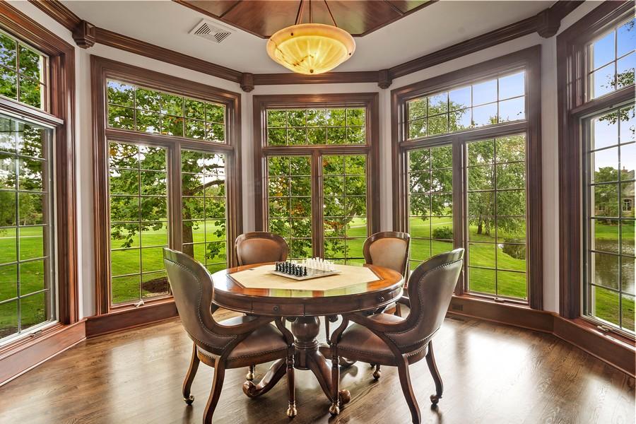 Real Estate Photography - 4 Kensington Drive, North Barrington, IL, 60010 - office/Study