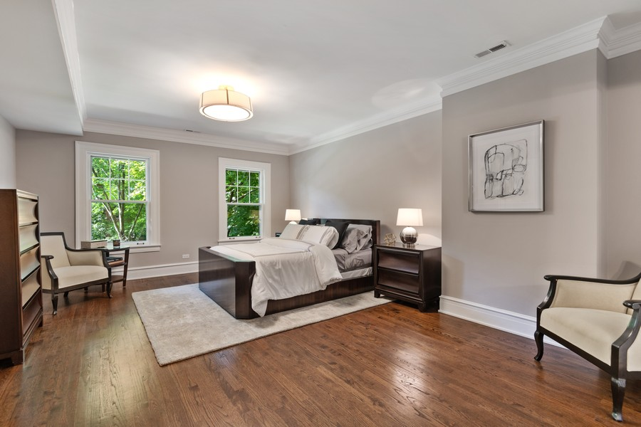 Real Estate Photography - 1625 Judson Ave, Evanston, IL, 60201 - Master Bedroom