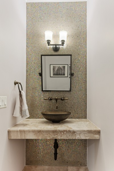 Real Estate Photography - 1460 W Byron St, Chicago, IL, 60613 - Powder Room